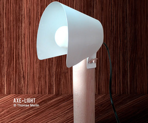 Axe Light lamp by Thomas Merlin