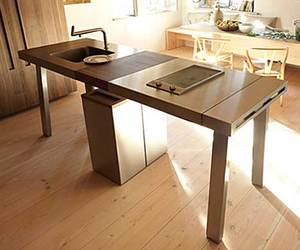 B2 Kitchen Workstation by EOOS