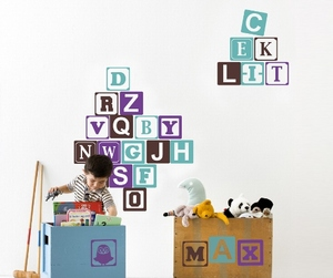 Baby Blocks Wall Sticker