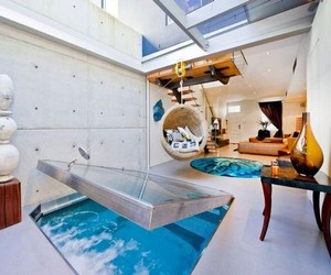 First Floor Spa in Bachelor Pad by Weir Phillips Architects