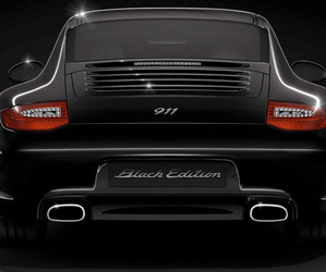 Back In Black. The 2011 Porsche 911 Black Edition.