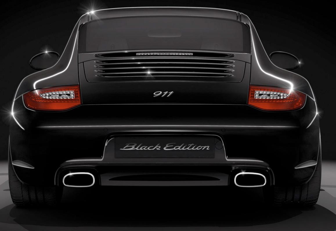 Back In Black The 2011 Porsche 911 Black Edition