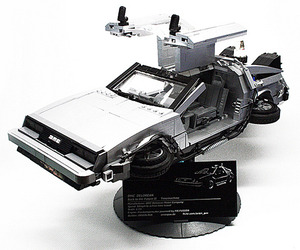 Back To The Future II DMC DeLorean LEGO Replica