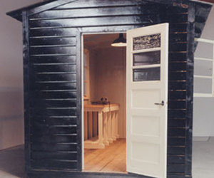 Backyard forts by Piet Hein Eek