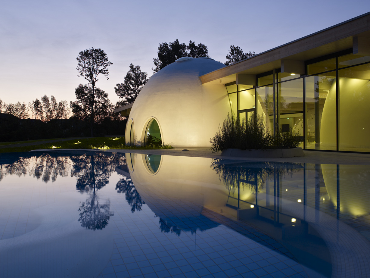 Casa Bad Aibling bad aibling spa resort germany by behnisch architects