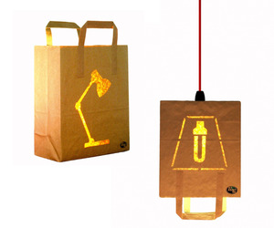 Bagalights. Energy Saving Table and Pendant Lamps.