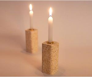 Bakery Terrazzo candle holders