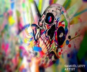 Ballpoint pen art by Samuel Levy