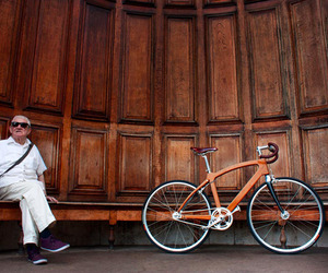 Bamboo Bike For Urban Streets