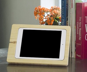 Bamboo iPad Mini Dock