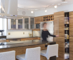 Bamboo kitchen remodel by Thrive Design Studio