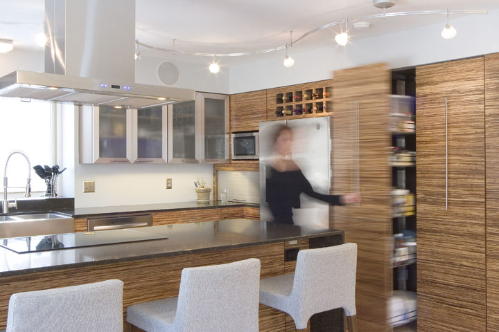 Bamboo kitchen remodel by Thrive Design Studio . Kitchen Design Studio. Home Design Ideas