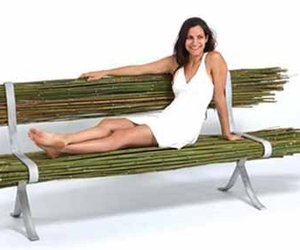 'Bamboo' Public Seating Unit by Gal Ben-Arav