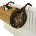 Bamboo Radiator Bed, A Cozy Home For Pet Cats