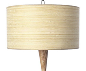 Bamboo Veneer Lighting Fixtures & Pendant Lights