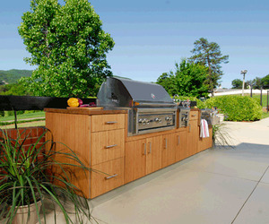 BambooClad Outdoor Kitchens from Atlantis