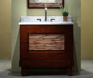 Bambu Vanity from Xylem