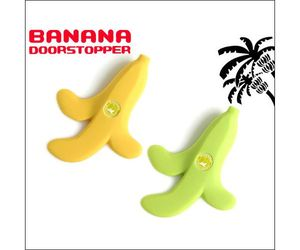 BANANA Door Stopper designed by Takashi Oba