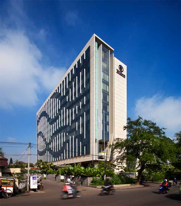 Hotel Exterior Design Architecture Affordable Ideas Modern: Bandung Hilton By WOW Architects