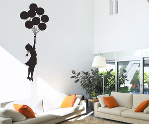 Banksy Floating Balloon Wall Sticker
