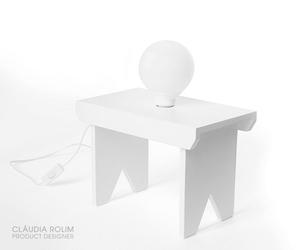 Banquinho Lamp by Cláudia Rolim