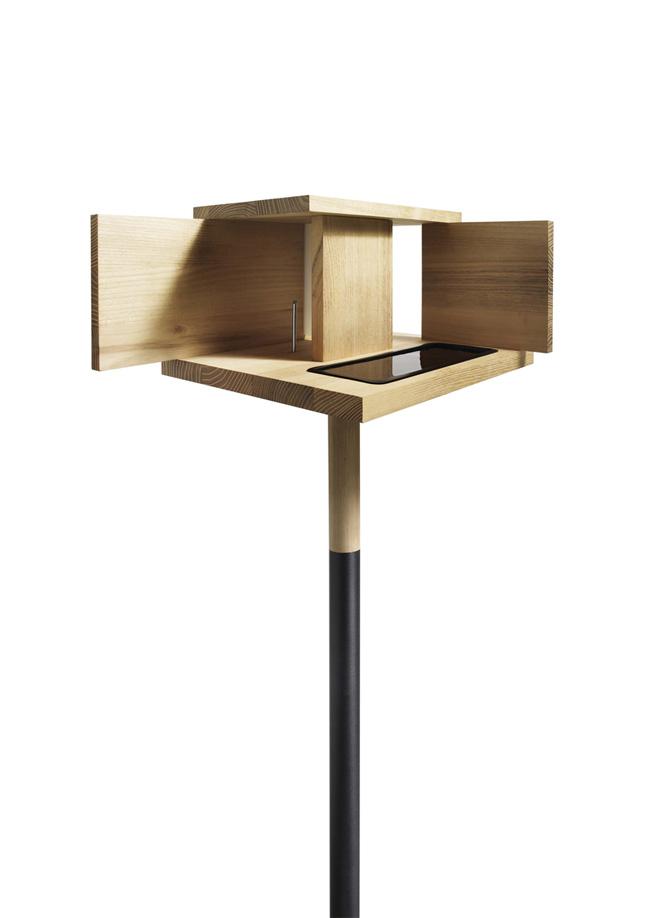 barcelona unique wooden bird house by monique engelund. Black Bedroom Furniture Sets. Home Design Ideas