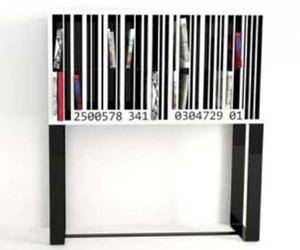 Barcode Bookshelf