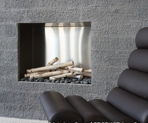 Basalt Fireplace Wall