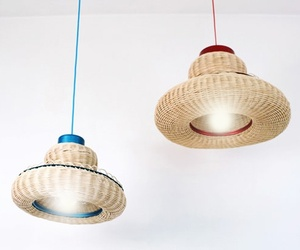 Basket Lampshades by Knockoutdesign