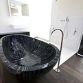Bath beauty with a Combination of Warm Wood by Sasso