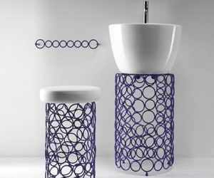 Bathroom Accessories: Steel Ring Designed by OML