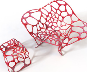 Batoidea Chair by Peter Donders