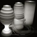 Baum lamp by Hiroe Araki