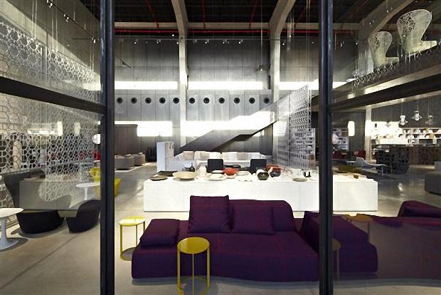 B&B Italia Tel Aviv Showroom by Pitsou Kedem Architects