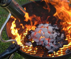 BBQ Dragon Fire Supercharger