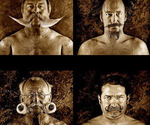 'Beard and Moustache,' Photo Series by Serge Anton