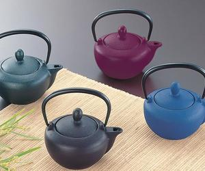 Beautiful and Classic Cast Iron Tea Kettles