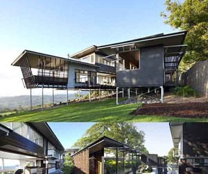 Beautiful Green Architecture of Maleny House by Bark Design
