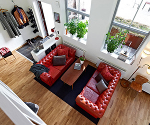Beautiful Apartment with Mezzanine in Gothenburg, Sweden