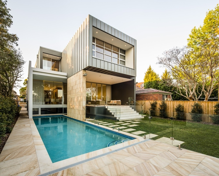 Beautiful Box House In Australia