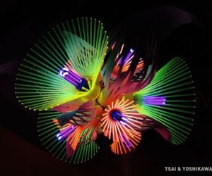 Beautiful Chandelier By Hsiao-Chi Tsai And Kimiya Yoshikawa