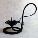 Beautiful Hand Made Iron Candle Holders