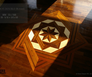 Beautiful Handcrafted Parquetry - The Medallion Inlays