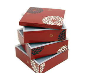 Beautiful Japanese lacquer-work Lunch Boxes