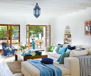 Beautiful Mediterranean style décor in Ibiza