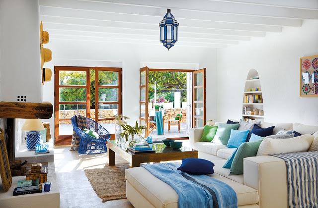 beautiful mediterranean style d cor in ibiza rh materialicious com mediterranean style decor pictures mediterranean style decor pictures