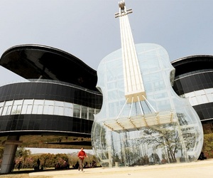 Beautiful Piano House in China