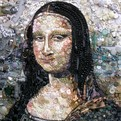 Beautiful Portraits Made Entirely From Recycled Materials