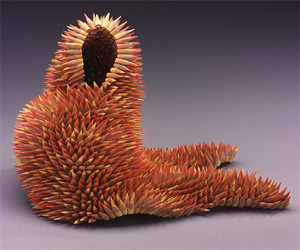 Beautiful Sculptures Made of Pencils