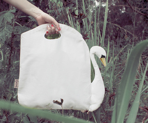 Beautiful Swan Bag